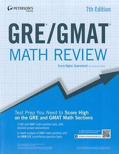 GRE/GMAT Math Review (Peterson's GRE/GMAT Math Review) by Peterson's