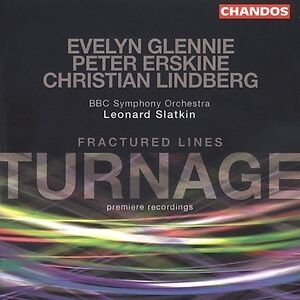 Fractured Lines (Slatkin, Bbc So, Glennie) CD NEW
