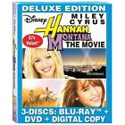 Hannah Montana The Movie (Blu-ray Disc, 2009, 3-Disc Set, with DisneyFile Digital Copy)