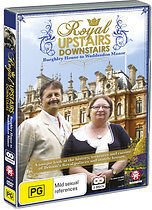 Royal Upstairs Downstairs - Burghley House To Waddesdon Manor (DVD, 2012) Reg 4
