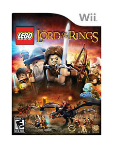 Nintendo-Wii-Game-LEGO-LORD-OF-THE-RINGS-No-Manual