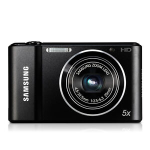 Samsung ST66 16.1 MP Digital Camera - Black