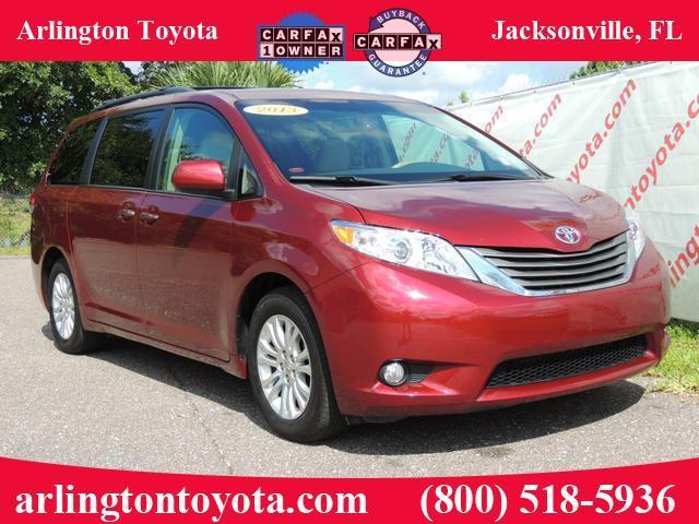 Arlington Toyota Jacksonville Florida >> 2013 Toyota Sienna Xle Dual Dvd Premium Package, Navigation - Certified Pre-owned Toyota Sienna ...