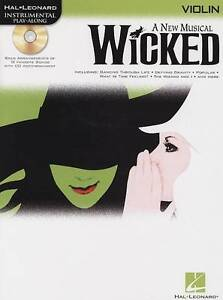 Hal Leonard Instrumental Play-along: Wicked (Violin): Violin by Hal Leonard...
