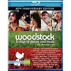 Woodstock: Three Days of Peace & Music (Blu-ray Disc, 2010, 2-Disc Set, Director's Cut; 40th Anniversary; Ultimate Collector's Editi)