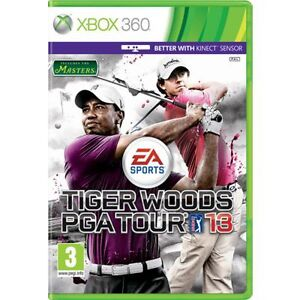 Tiger-Woods-PGA-Tour-13-Xbox-360-BRAND-NEW-NOT-SEALED-No-Booklet