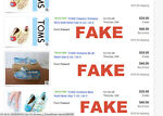 FAKE Toms shoes on eBay & How to spot them! *With Pics*