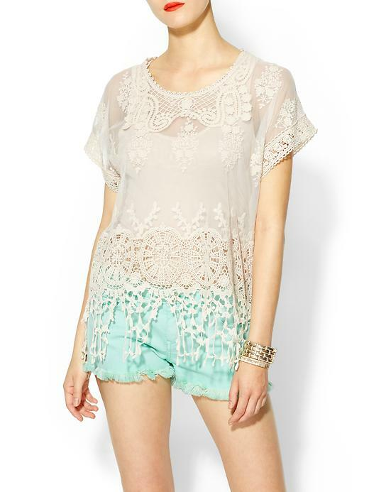 9 Ways to Style a Lace Blouse