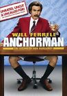 Anchorman: The Legend of Ron Burgundy (DVD, 2004, Extended Edition Widescreen)
