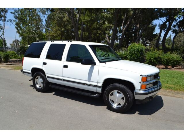 NO RESERVE, 99 Tahoe Z71, CLEAN CARFAX, 4WD, 1 Owner, Southern CA Car