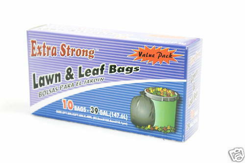 Extra Strong 39-Gallon Lawn and Leaf Bags
