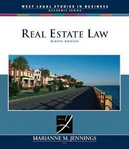 real estate law jennings pdf