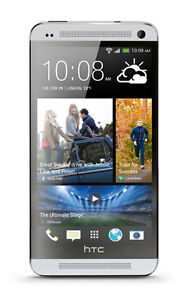 HTC-One-32-GB-Silver-CDMA-GSM-Single-SIM-MINT