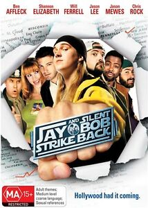 JAY-AND-SILENT-BOB-STRIKE-BACK-DVD-2001-New-Sealed-R4-Jason-Mewes-Kevin-Smith