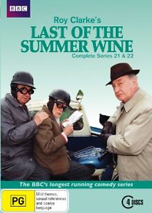 Last Of The Summer Wine : Season Series 21 - 22 DVD, 2013, 4-Disc Set R4