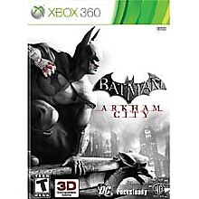 New Batman: Arkham City  (Xbox 360, 2011) New Sealed, Free Shipping