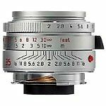 Leica  Summicron-M Summicron M 35mm f/2.0 (Chrome) 35 mm   F/2.0  Lens (Silver )
