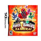 Power Rangers Samurai Video Games for Nintendo DS