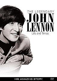 The Legendary John Lennon - His Amazing Story (DVD, 2012)