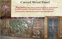 Antique Carved Wood Doors