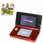 Nintendo 3DS Super Mario 3D Land Metallic Red Handheld System (PAL)