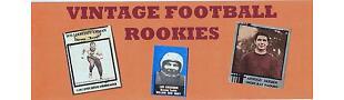 VINTAGE FOOTBALL ROOKIES