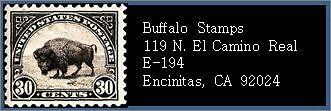 Buffalo Stamps
