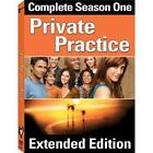 Private Practice - The Complete First Season (DVD, 2008, 3-Disc Set, Extended Edition) (DVD, 2008)