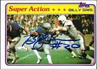 Billy Sims Football Trading Cards