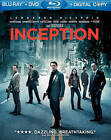 Inception (Blu-ray/DVD, 2010, 2-Disc Set)