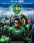 Green Lantern (Blu-ray/DVD, 2011, 3-Disc Set, Extended Cut; Includes Digital Copy; 3D/2D; UltraViolet)