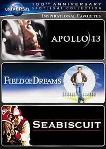 Seabiscuit, Field of Dreams, Apollo 13 - 3 movies ...