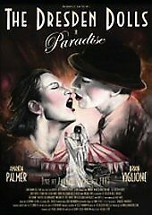 The Dresden Dolls - Paradise (DVD, 2005) NEW AND SEALED