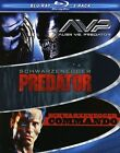Muscle 3-Pack: Commando/Predator/Alien Vs Predator (Blu-ray Disc, 2009, 3-Disc Set, Checkpoint; Sensormatic; Widescreen)