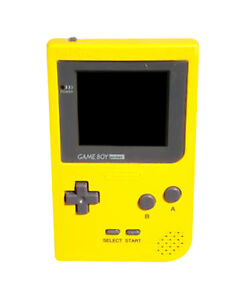 Nintendo Game Boy Pocket Yellow Handheld...