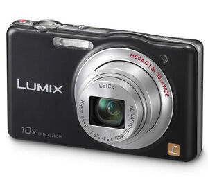 Panasonic Lumix SZ1 16.1 MP Digital Camera 10x Optical Zoom Black