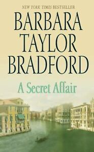 A-Secret-Affair-by-Barbara-Taylor-Bradford-1997-Paperback-Large-Type