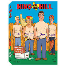 King of the Hill: The Complete Third Season [3 Discs] DVD Region 1, NTSC