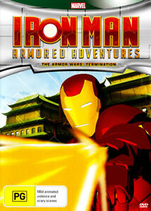 Iron Man Armored Adventures - The Armor Wars - Termination (DVD, 2012) (Box D147
