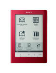 Sony PRS-600RC 500MB, Wi-Fi, 6in - Red