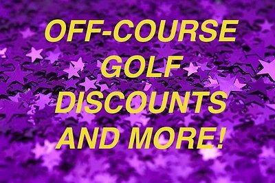 Off Course Golf Discounts and More