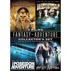 The Curse of King Tut's Tomb / The Poseidon Adventure / Merlin's Apprentice / Blackbeard (DVD, 2008, 2-Disc Set, 4-Pack)