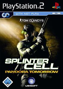 Tom Clancy´s Splinter Cell Pandora Tomorrow Erstauflage (PS2) - DVD wie Neu