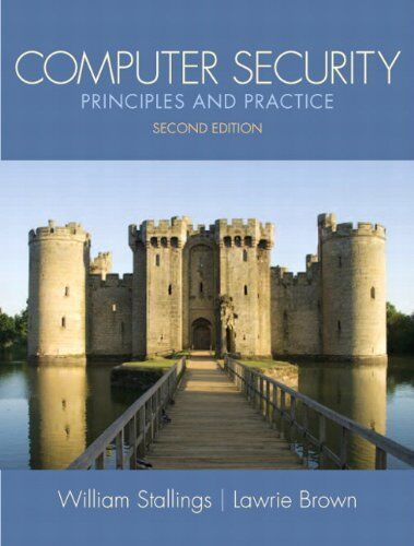 Computer Security: Principles and Practice 2nd Edition Stallings 1