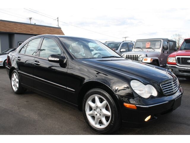 2003 mercedes benz c240 4matic v6 new tires leather
