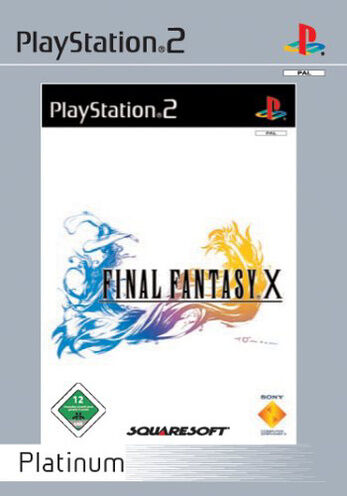 Final Fantasy X (Sony PlayStation 2, 2003, DVD-Box)