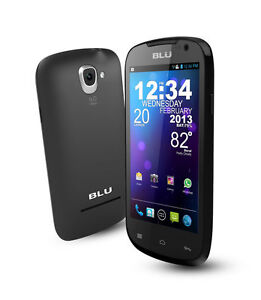 BLU Dash 4.0 D270a - 4GB - Black (Unlock...