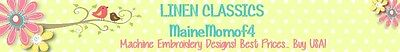 Linen Classics Embroidery Designs