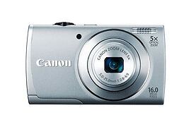 CANON-Power-Shot-A2600-PSA2600-Digital-Camera-16-0-MP-5x-Optical-Zoom-SILVER-F-S