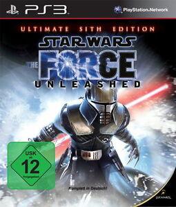Star Wars: The Force Unleashed -- Ultimate Sith Edition (Sony PlayStation 3, 20… - Deutschland - Star Wars: The Force Unleashed -- Ultimate Sith Edition (Sony PlayStation 3, 20… - Deutschland